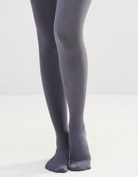 Колготки на флисовой подкладке Plush - Серый