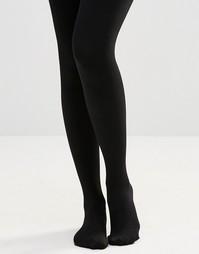 Колготки на флисовой подкладке Plush - Черный