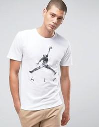 Белая футболка Nike Jordan Jumpan Air Dreams 801074-101 - Белый