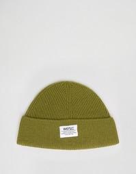 Шапка-бини из смешанной шерсти Wesc Hanson - Зеленый