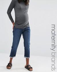 Свободные джинсы бойфренда Isabella Oliver - Синий