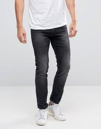 Черные облегающие джинсы Boss Orange 72 - Черный