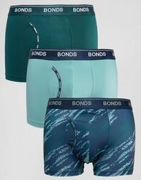 3 пары боксеров‑брифов из микрофибры Bonds - Мульти