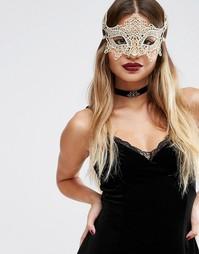 Маска ASOS Halloween - Золотой