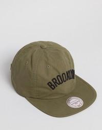 Бейсболка с регулируемым ремешком сзади Mitchell & Ness Brooklyn Nets - Зеленый