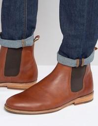 Кожаные ботинки челси Bobbies LHorloger - Рыжий