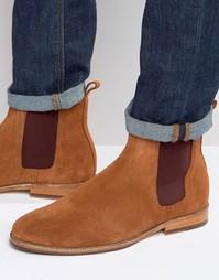 Замшевые ботинки челси Bobbies LHorloger - Рыжий