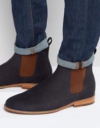 Замшевые ботинки Bobbies Le Marabout - Темно-синий