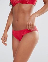 Бразильские трусики Wonderbra Refined Glamour - Красный