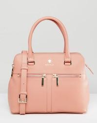 Кожаная сумка‑тоут Modalu Pippa - Розовый