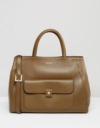Кожаная сумка‑тоут Modalu - Зеленый