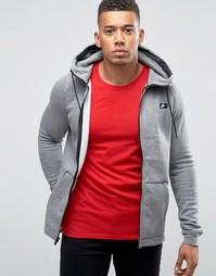 Худи на молнии Nike 835858-091 - Серый