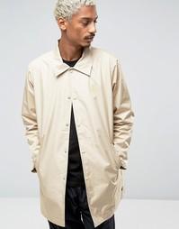 Длинная спортивная куртка Stussy - Бежевый