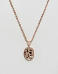 Золотисто-розовое ожерелье Mister Gladiator - Золотой