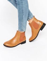 Ботинки челси на плоской подошве Park Lane - Рыжий