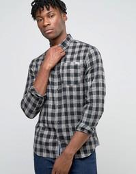 Рубашка в клетку Jack & Jones - Черный