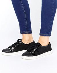 Кроссовки на шнуровке Dune Ennis - Черный