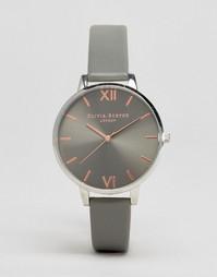 Часы цвета розового золота Olivia Burton OB16BD90 - Серый