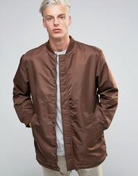 Удлиненная куртка-пилот ADPT - Красный