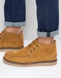 Замшевые ботинки чукка Toms - Рыжий