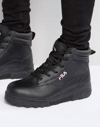 Ботинки на шнуровке Fila Grunge - Черный