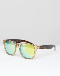 Солнцезащитные очки в D-образной оправе Toyshades - Бежевый