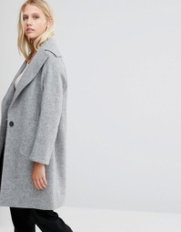 Серое пальто Cooper & Stollbrand - Серый