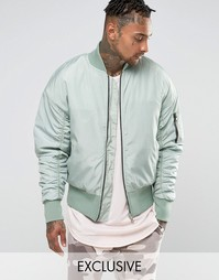 Куртка-пилот в стиле oversize Other UK - Синий