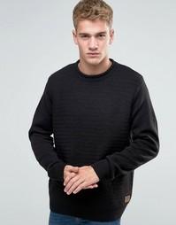 Джемпер с круглым вырезом Threadbare - Черный