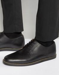 Черные кожаные туфли на шнуровке Frank Wright Trinder - Черный