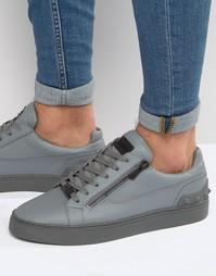 Кроссовки с молнией Glorious Gangsta London - Серый