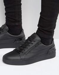 Кроссовки с молнией Glorious Gangsta London - Черный