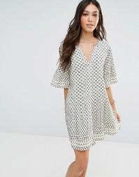 Платье Tularosa Ash - Кремовый