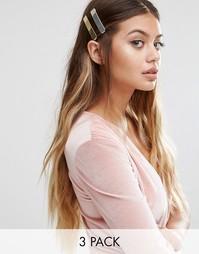 Металлические заколки для волос Johnny Loves Rosie - Мульти