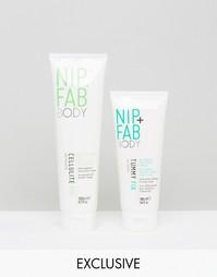 Набор из двух средств для тела Nip & Fab эксклюзивно для ASOS - СКИДКА 47 - Бесцветный Nip+Fab