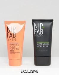 Увлажнение и основа Nip & Fab эксклюзивно для ASOS - Основа Viper Venom Micro Blur и маска Dragons Blood - СКИДКА 43 - Бесцветный Nip+Fab