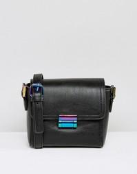 Маленькая сумка через плечо с радужной застежкой Skinnydip - Мульти