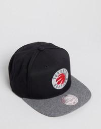 Бейсболка Mitchell & Ness Fuzz Toronto Raptors - Черный