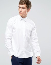 Белая рубашка слим Paul Smith - Белый