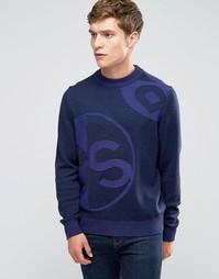 Темно-синий джемпер в крапинку Paul Smith - Темно-синий