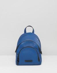Мини-рюкзак из зернистой кожи Kendall + Kylie - Синий