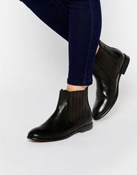 Кожаные ботинки челси H By Hudson Wexford - Черный