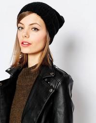 Свободная шапка-бини Hat Attack - Черный