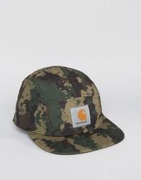 5-панельная кепка с камуфляжным принтом Carhartt WIP X Starter - Зеленый