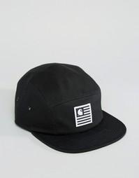 5-панельная кепка Carhartt WIP X Starter - Черный