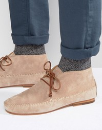 Замшевые ботинки Bobbies Le Marabout - Бежевый