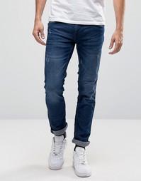 Синие зауженные джинсы Blend Cirrus - Синий