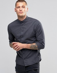 Рубашка слим Blend - Темно-синий