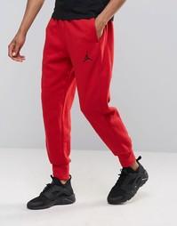 Красные джоггеры узкого кроя Nike 823071-687 Jordan Flight - Красный