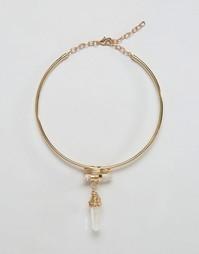 Броское ожерелье Nylon - Золотой